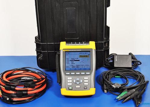 Fluke 435 Power Analyzer PQA with i430-Flexi AC Current Clamps - NIST Ca