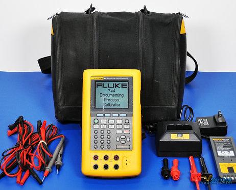 Fluke 744 Documenting Multifunction Process Calibrator HART - NIST Calibrated