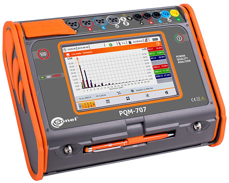 Sonel - PQM-707, TRMS,  up to 760 V, Software Included
