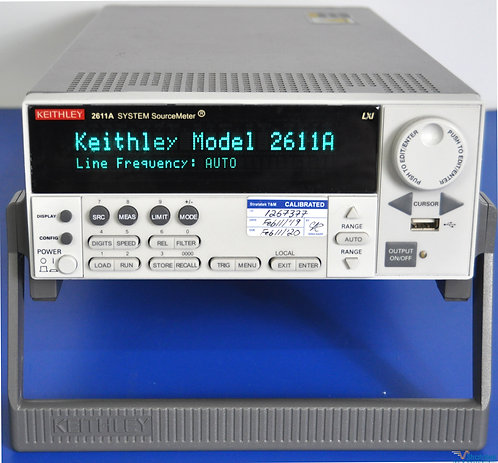 Keithley 2611A SourceMeter SMU 200V 10A Pulse - NIST Calibrated with Warranty