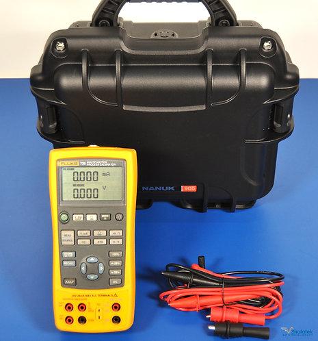 Fluke 725 Multifunction Process Calibrator - NIST Calibrated with Data