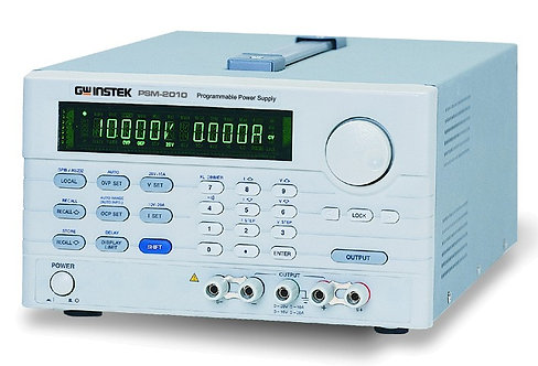 GW Instek PSM Series DC Linear Dual Range Power Supply up to 60V 20A