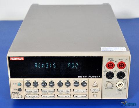Keithley 2015 Series 6.5 Digit THD Multimeter NIST Calibrated 6 1/2 Digit DMM