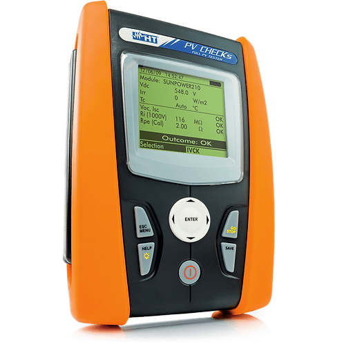 HT Instruments PVCHECKs Multifunction PV Tester 1000V 15A Photovoltaic
