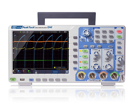 Peaktech P1341 Digital Storage Oscilloscope 100MHz 4 CH 1 GS/s DSO