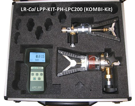 LR-Cal LPP Kit PH-LPC200 Pneumatic and Hydraulic Pressure Calibration Kit