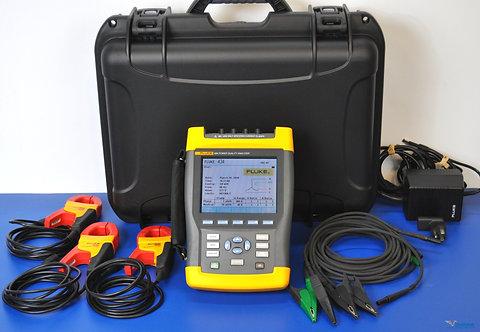 Fluke 434 Power Quality Analyzer PQA - NIST Calibrated with Warranty