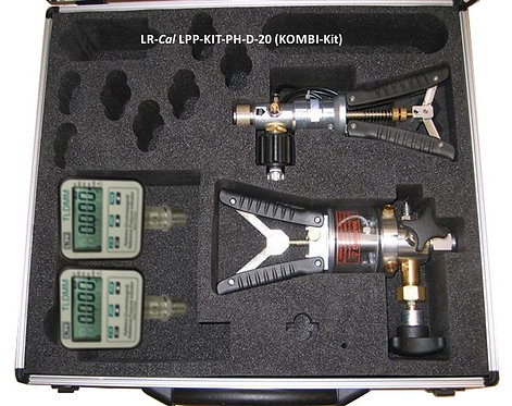 LR-Cal LPP Kit PH-D-05 Pneumatic and Hydraulic Pressure Calibration Kit