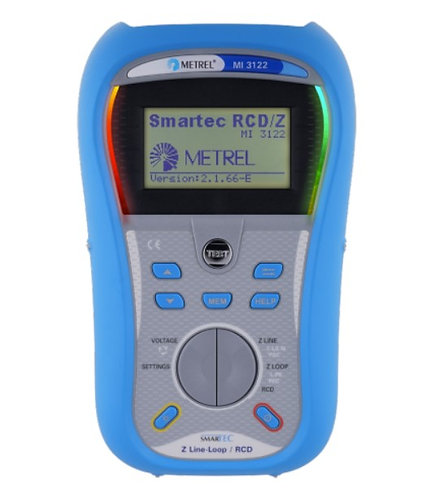 Metrel MI 3121 SMARTEC Insulation , TRMS. Continuity Tester