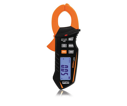 HT Instruments HT7005 TRMS Hand Held Clamp Meter for AC/DC Current up to 400A