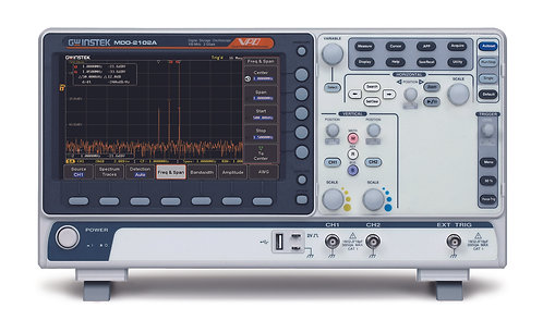 GW Instek MDO-2000A Series Mixed Domain Oscilloscopes 100/200/300MHz 2GS/s