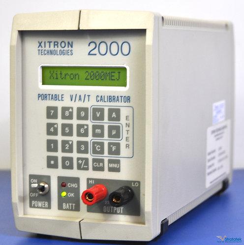 Xitron Technologies 2000M V/A/T Portable DC Calibrator and Temperature Source