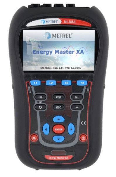 Metrel MI 2884 Energy Master XA, Harmonic and interharmonic analysis, TRMS
