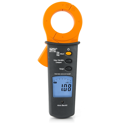 HT Instruments HT77N Leakage Current Clamp Meter 100A