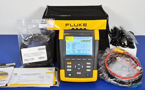 Fluke 438 Series II Power Quality and Motor Analyzer - NIST Calibrated