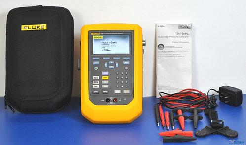 Fluke 729 FC 300G Automatic Pressure Calibrator HART 300 PSI - NIST Calibrated