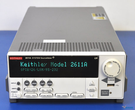 Keithley 2611A SourceMeter SMU 200V 10A Pulse - NIST Calibrated with War