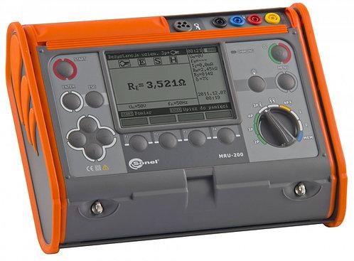 Sonel MRU-200 GPS & BT-Earth Resistance and Resistivity Meter Tester
