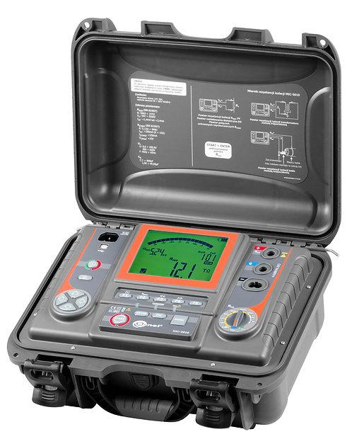Sonel -MIC-5010-Insulation Resistance Meter, 5000V, IP40, PI, DAR, SV, PV Tests