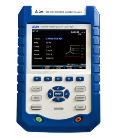 Suin SA2100 Handheld Power Quality Analyzer