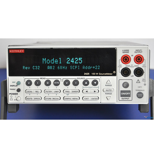 Keithley 2425 100W SourceMeter SMU - NIST Calibrated with Warranty