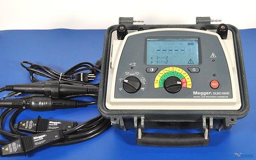 Megger DLRO10HD 10A Digital Low Resistance Ohmmeter - NIST Calibrated