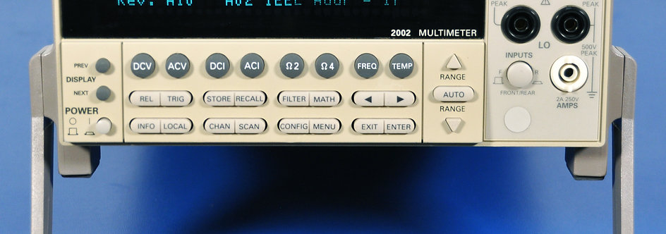 Keithley 2002 8.5 Digit Calibration Multimeter 8 1/2 Digit DMM - NIST Calibrated