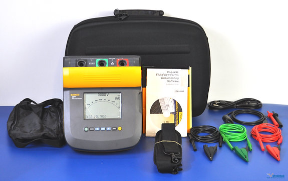 New Fluke 1550C 5kV Insulation Tester - NIST Calibrated with Warranty
