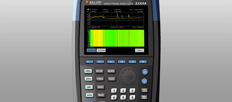 Saluki S3331 Handheld Spectrum Analyzer (up to 7.5GHz)