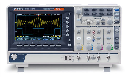 GW Instek GDS-1104B Digital Storage Oscilloscope 100MHz DSO 4 Channel