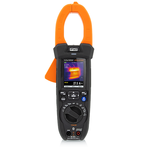 HT Instruments ECLIPSE AC/DC TRMS 1000A 1500V Clamp Meter with Thermal Imager