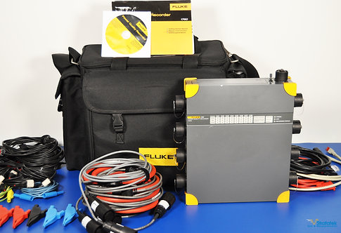 Fluke 1760 TR TOPAS Three Phase Power Quality Recorder with Transient Option