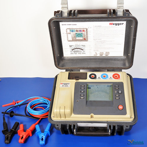 Megger S1-552 5kV Insulation Tester - NIST Calibrated with Warranty