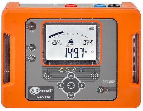 Sonel -MIC-2501-Insulation Resistance Meter, 2500V, 1000 GΩ, IP65