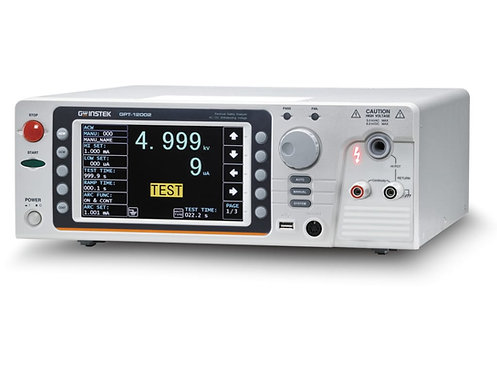 GW Instek GPT-12002 Safety Analyzer Tester Hi-Pot 200VA AC/DC Hipot