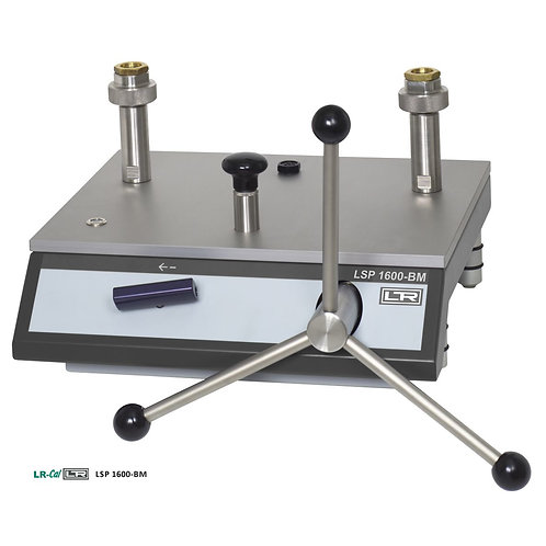 LR-Cal LSP 1600-BM Bench Hydraulic Pressure Comparison Pump 1600 bar