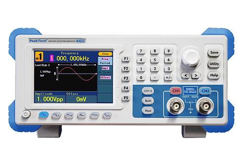 Peaktech P4165 2 Channel Arbitrary Waveform Generator 1 µHz – 25 MHz