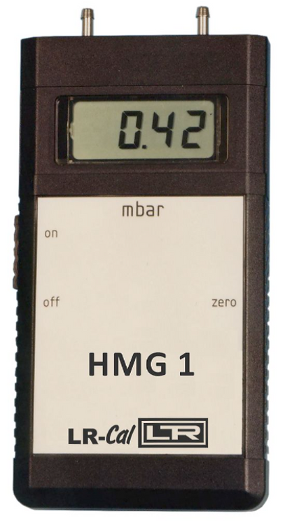 LR-Cal HMG 1 Digital Manometer 1mbar to 10 bar