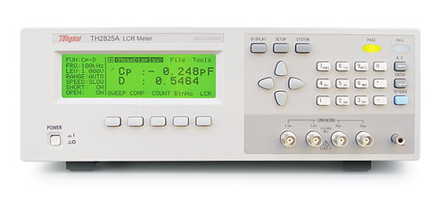 Tonghui TH2825A High-speed LCR Meter 10 Frequencies 40Hz-100kHz