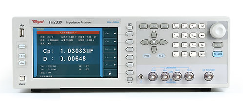 Tonghui TH2839 Impedance Analyzer High Speed Auto Balance 20Hz-10MHz