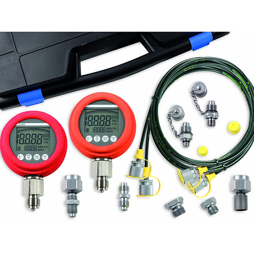 LR-Smart Tech HPKD-20 Hydraulic Test Case with x2 Digital Gauges 0 - 8700 PS