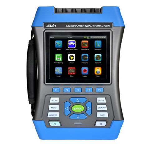 Suin SA2200 Power Quality Analyzer for Power, Energy, Harmonics PQA fluke