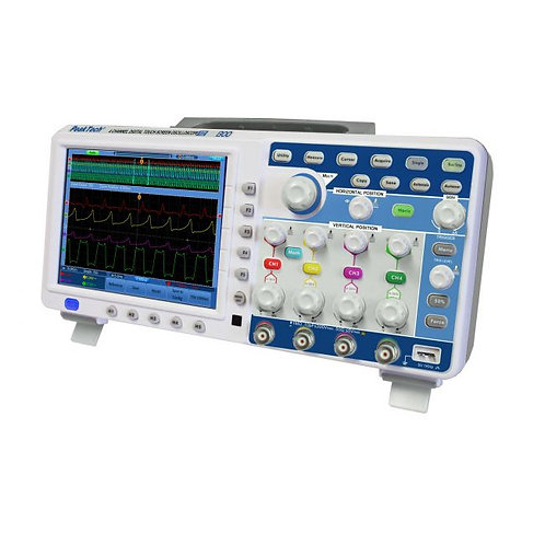 Peaktech P1300 Oscilloscope - 200 MHz / 4 CH, 2 GS/s and Touchscreen