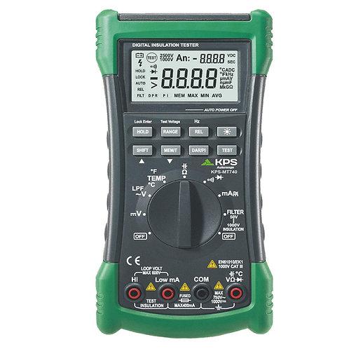 KPS-MT740 Digital Multimeter True RMS DMM 1000VDC 600VAC 400mA