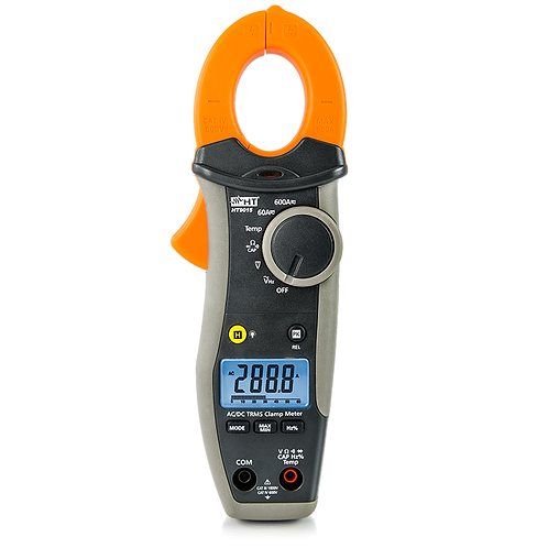 HT Instruments HT9015 AC/DC TRMS 600A CAT IV Clamp Meter with Temperature