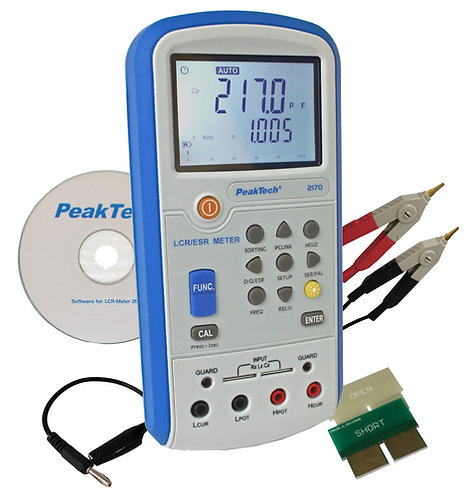 Peaktech P2170 LCR Meter ESR 100kHz USB 200MΩ 20mF 20kH