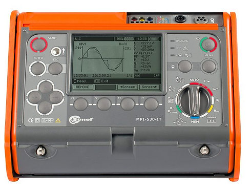 Sonel MPI-530 IT Multifunction Electrical Installations Meter 1kV 10 GΩ