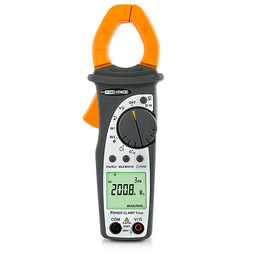 HT Instruments HT4020 Professional clamp meter AC TRMS 400A with Power measure