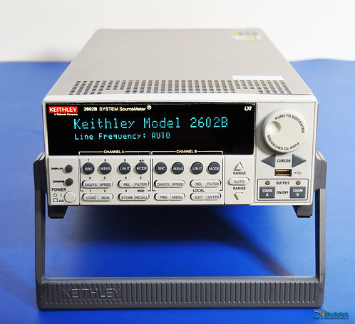 Keithley 2602B SourceMeter SMU Dual Channel Source Meter NIST Calibrated 40V 3A