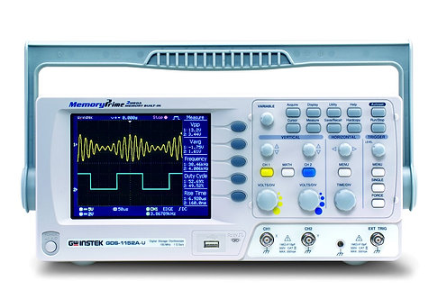 GW Instek GDS-1152A-U Digital Storage Oscilloscope 150MHz 2 Channel DSO 1GS/s